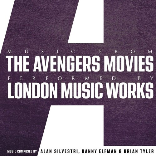 Music from the Avengers movies performed by London Music Works (vinile)