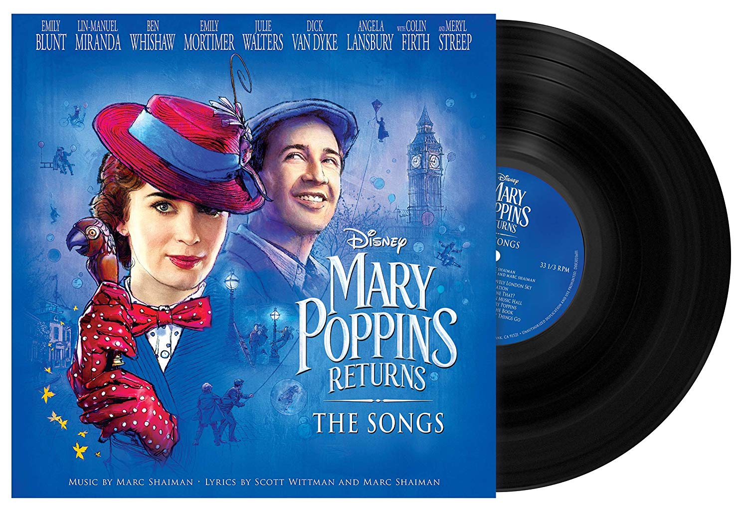 Mary Poppins returns - Mary Poppins il ritorno (2018) (vinile)