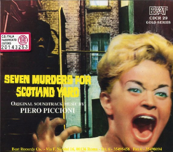 Seven murders for Scotland Yard (1971) / 7, Hyden Park (1985)