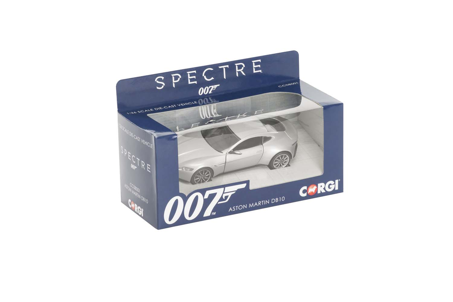007 James Bond - Corgi Aston Martin db10 Spectre die cast