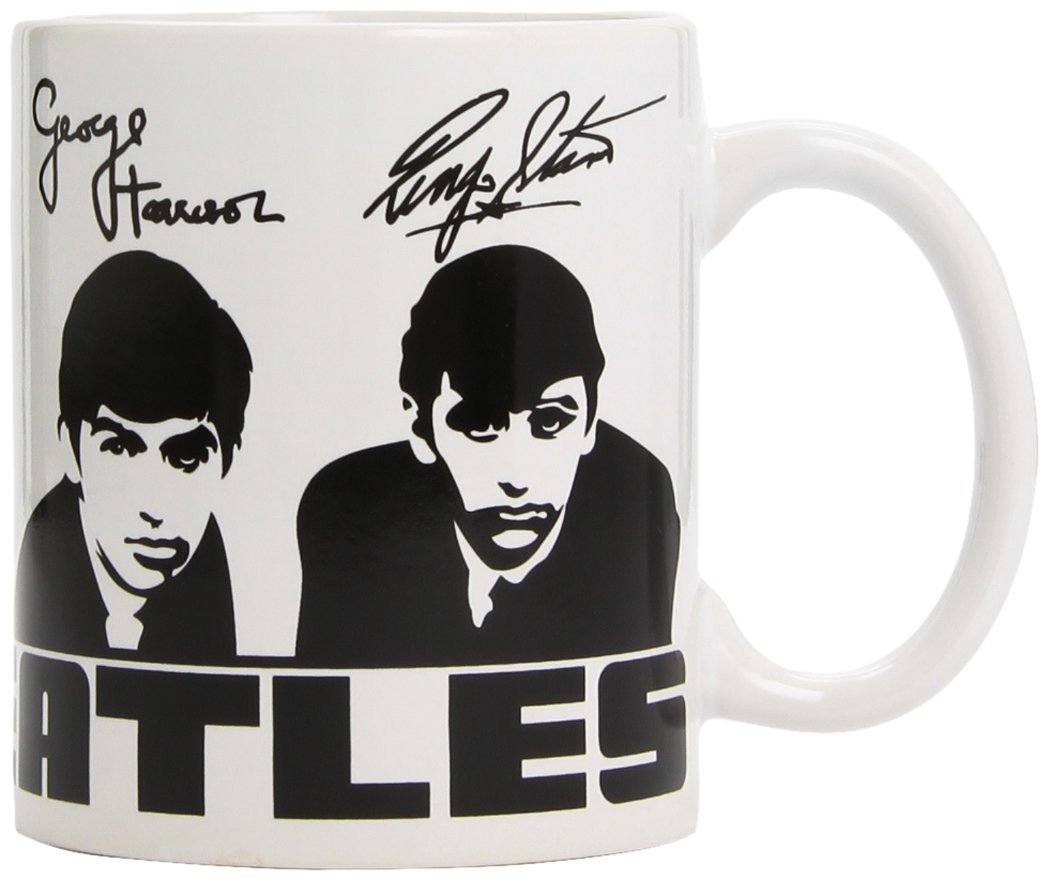 Beatles (The) - Tazza Mug - Portraits and signatures