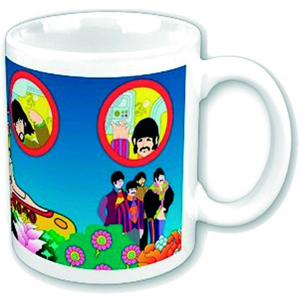 Beatles (The) - Tazza Mug - Yellow Submarine - Portholes