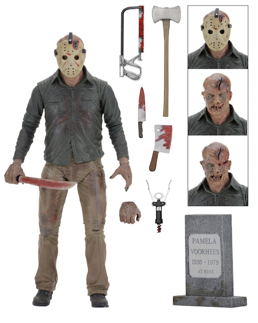 Friday the 13th part. 4 - Venerdì 13 - Jason Voorhees - Ultimate action figure