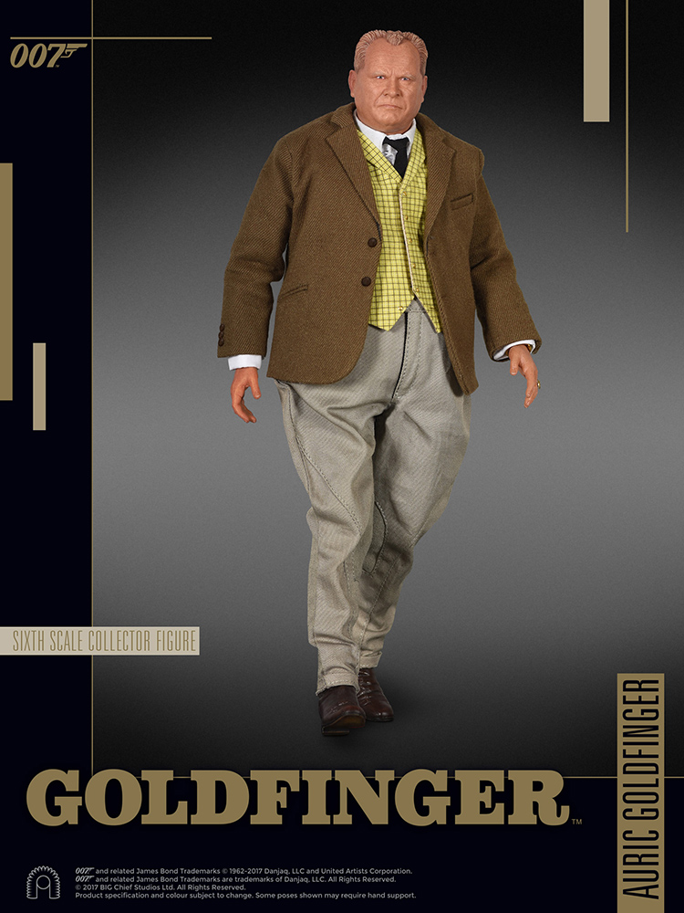 007 James Bond - Goldfinger - Action figure 1/6 - Auric (Big Chief)
