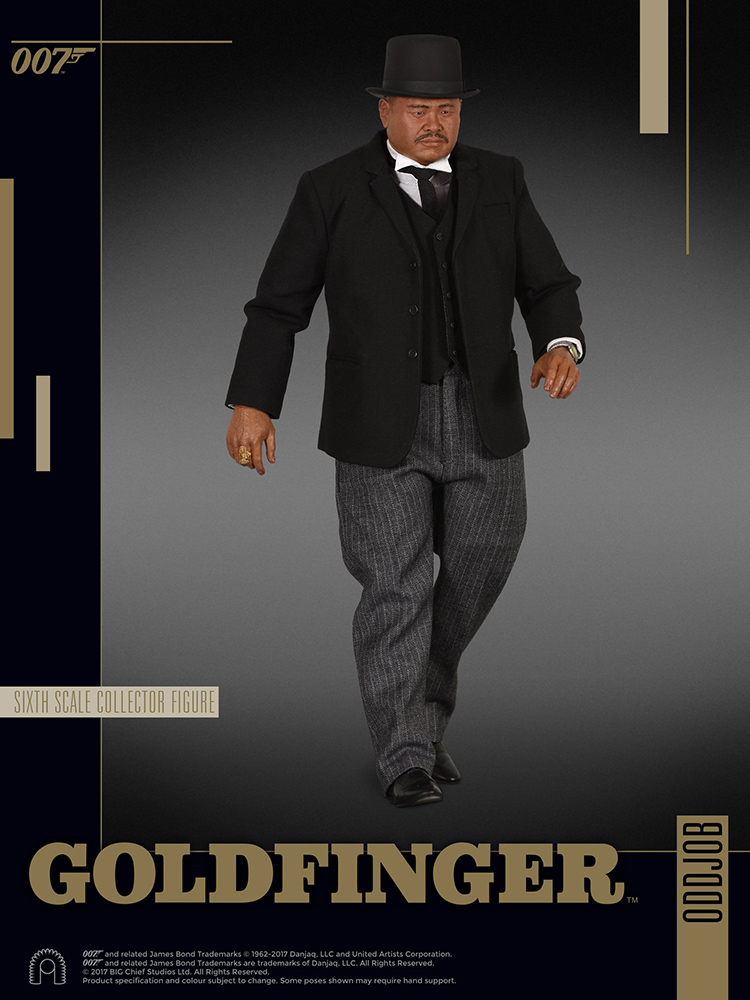 007 James Bond - Goldfinger - Action figure 1/6 - Oddjob (Big Chief)