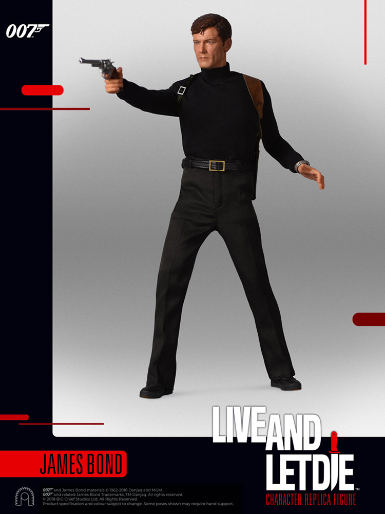 007 James Bond - Live and let die - Action figure 1/6 - James Bond Roger Moore (Big Chief)