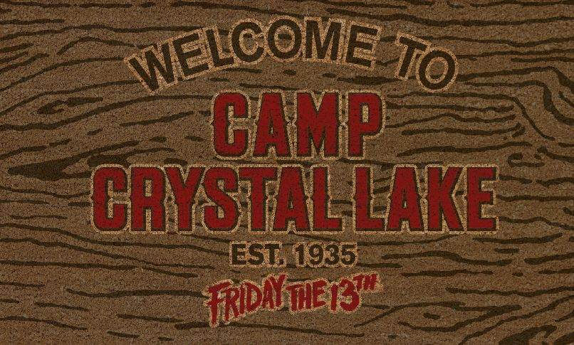 Friday the 13th - Venerdì 13 - Doormat - Zerbino - Welcome to Camp Crystal Lake