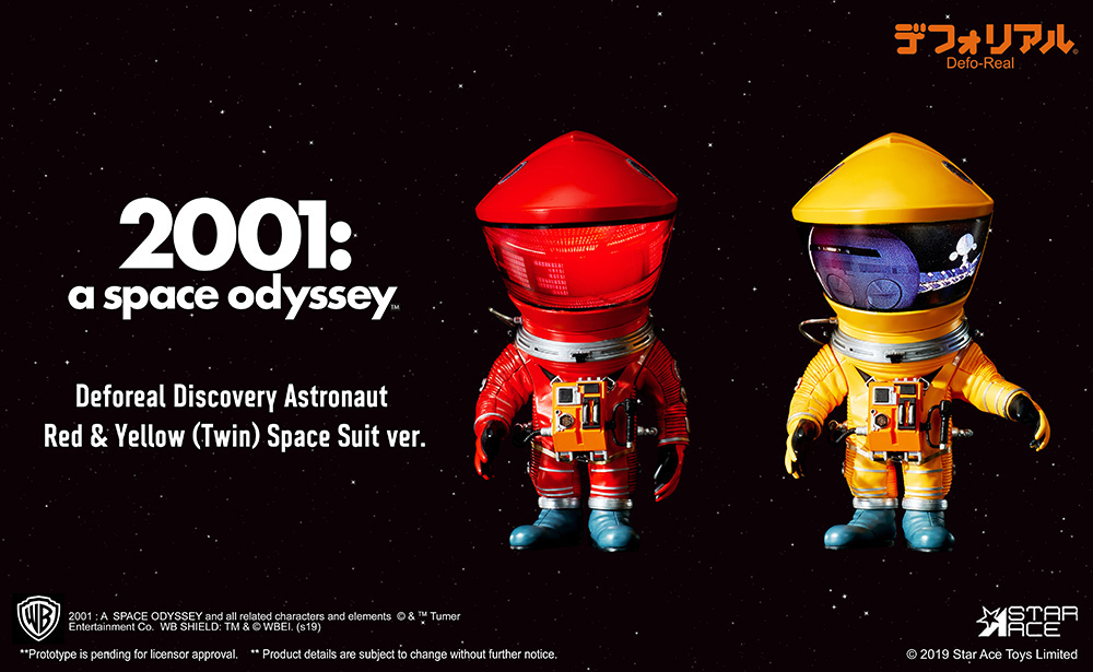 2001 Space Odissey DF astronaut red & yellow 2 pack (15 cm)