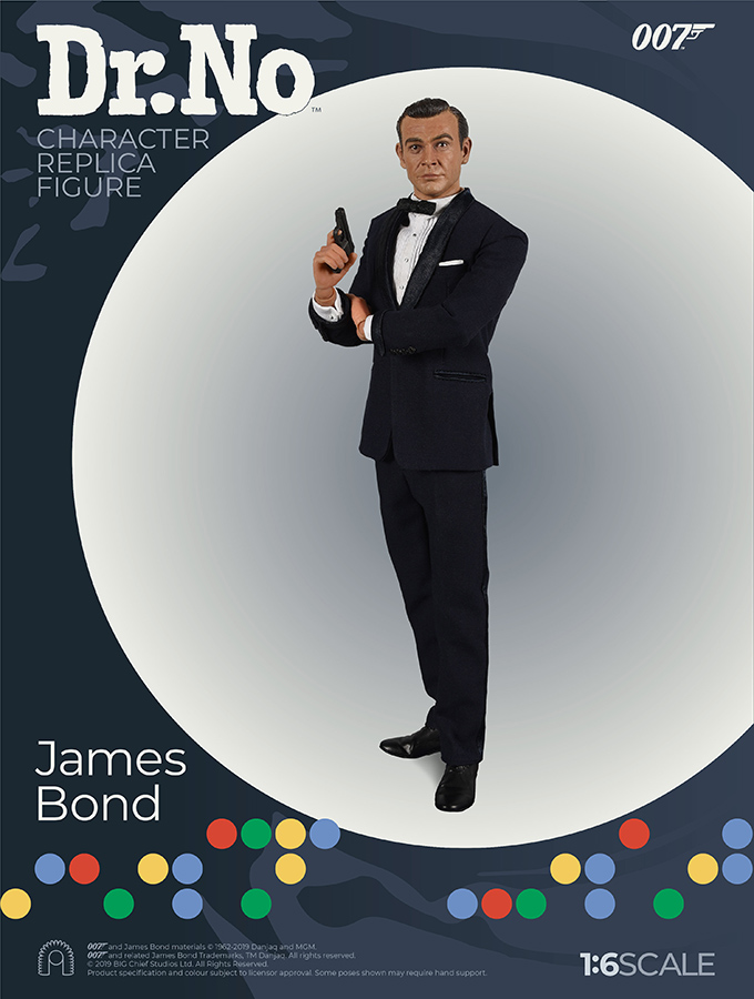 007 James Bond - Dr. No - Action figure 1/6 - James Bond Sean Connery (Big Chief)