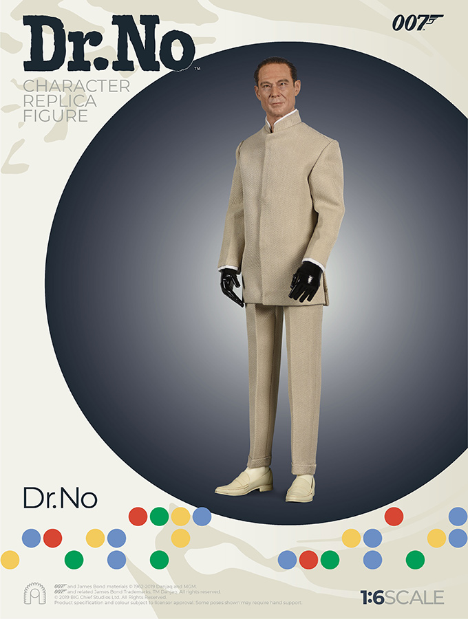 007 James Bond - Dr. No - Action figure 1/6 - Dr. No (Big Chief)
