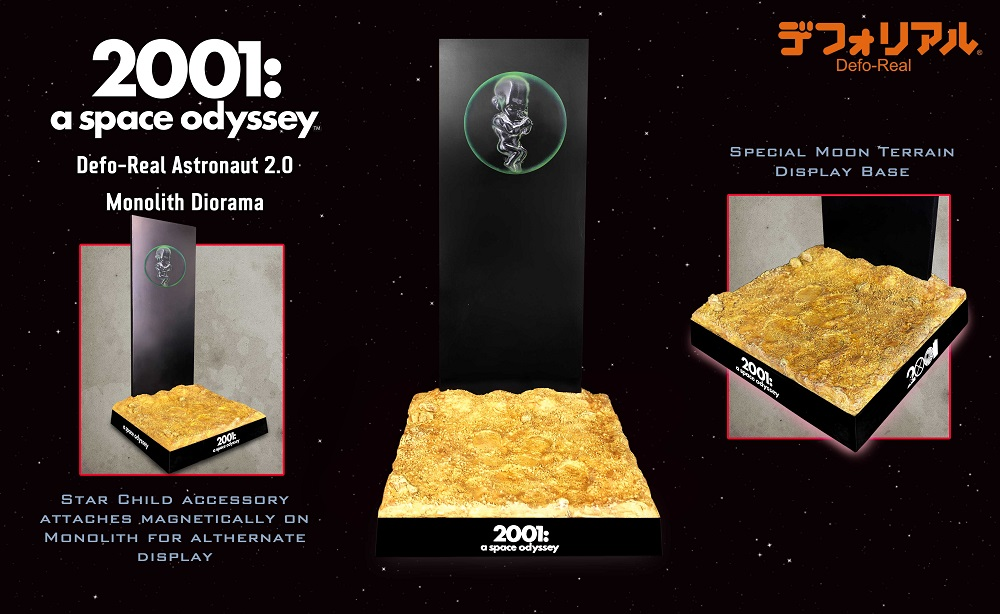 2001 A Space Odissey DF monolith diorama (15 cm)