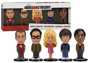 Big Bang Theory - Wacky bobbler mini set