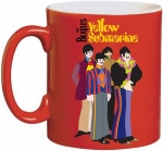 Beatles (The) - Tazza Mug - Yellow Submarine Red
