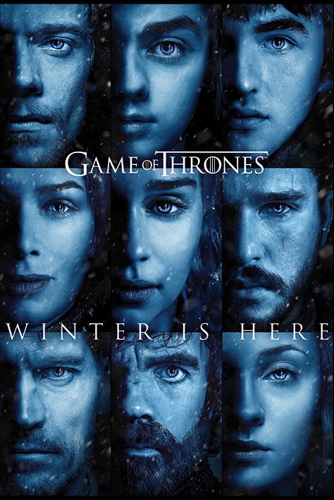 Game of Thrones - Trono di Spade - Winter is here