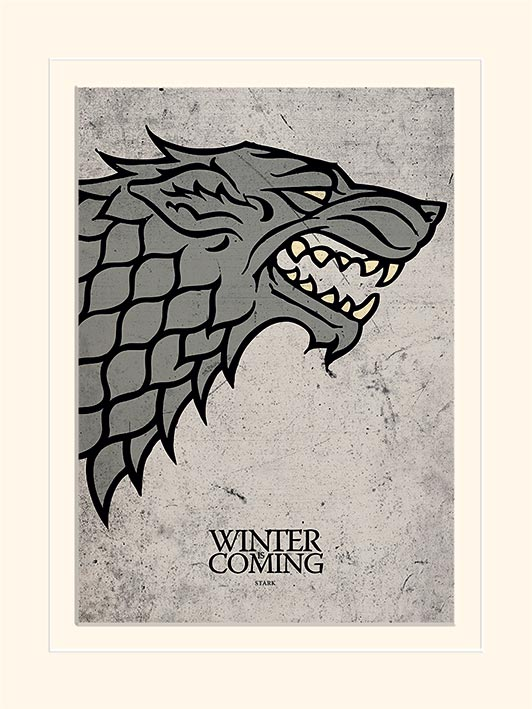 Game of Thrones - Trono di Spade - Stark (con passepartout) (mini)