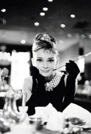 Audrey Hepburn - Breakfast at Tiffany's - Colazione da Tiffany - Cigarello (mini) (intramontabili)