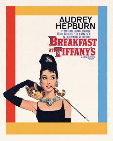 Audrey Hepburn - Breakfast at Tiffany's - Colazione da Tiffany (mini)