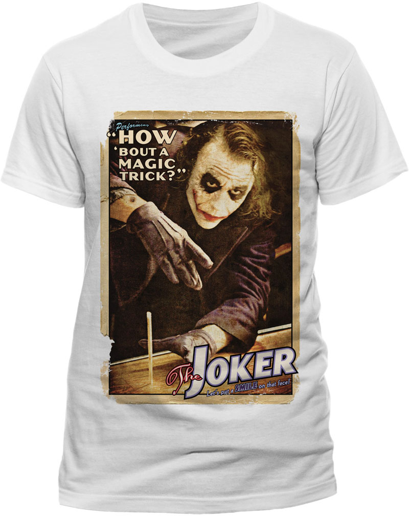 Batman - The Dark Knight - Joker magic trick