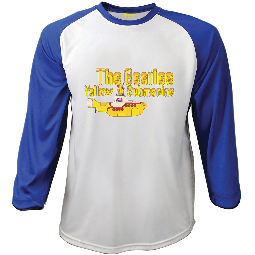 Beatles (The) - Raglan Baseball - Raglan Yellow Submarine