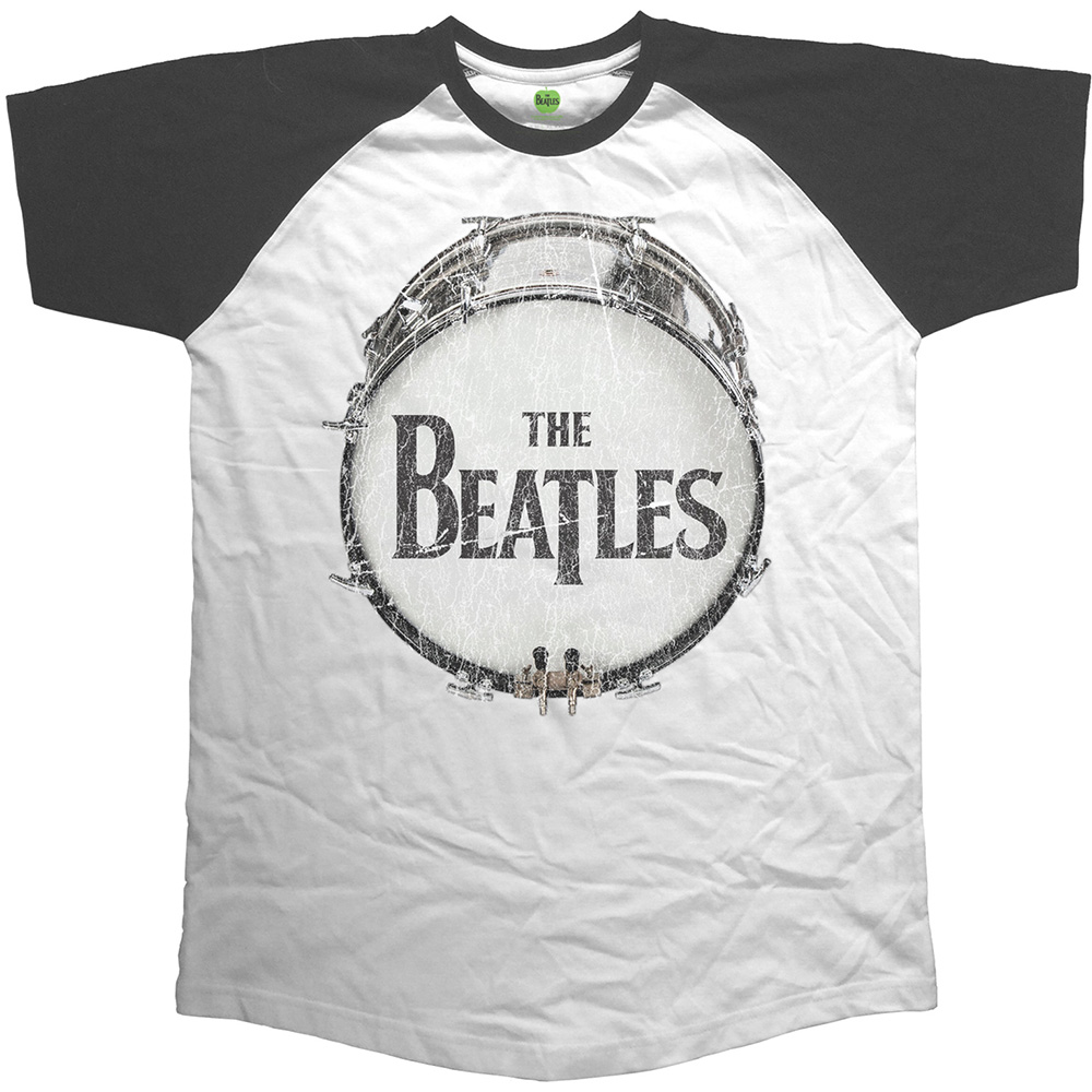 Beatles (The) - Raglan Baseball - Original Vintage Drum