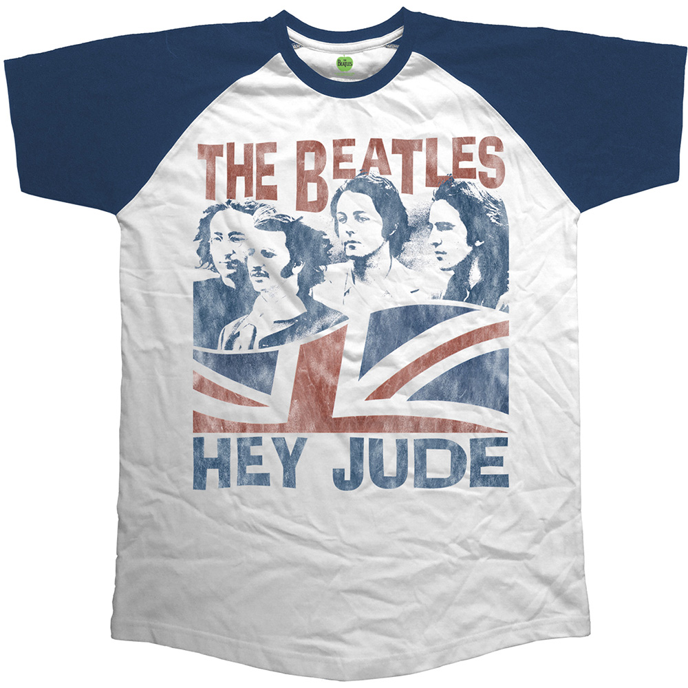 Beatles (The) - Raglan Baseball - Hey Jude Windswept
